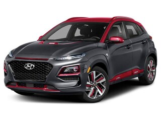 2019 Hyundai Kona Iron Man SUV Matte Gray w/Iron Man Red Roof