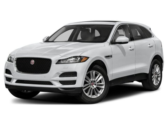 New 2019 Jaguar F-PACE 25t Premium SUV in Troy