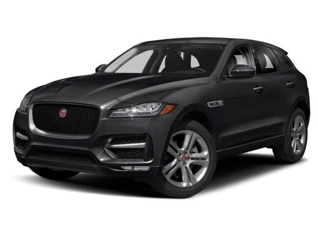 New 2019 Jaguar F-PACE AWD 30t R-Sport SUV in Exeter, NH
