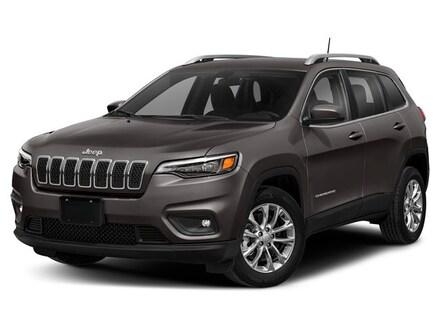 New 2019 Jeep Cherokee LIMITED 4X4 diamond black crystal pearlcoat exterior black interior VIN 1