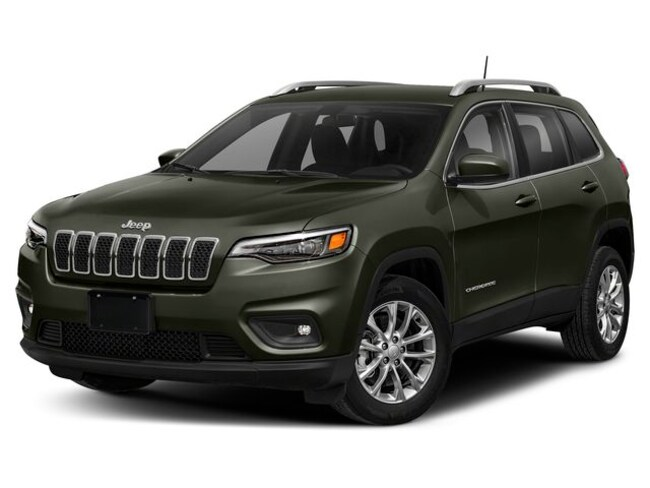 New 2019 Jeep Cherokee LATITUDE PLUS 4X4 Sport Utility Swedesboro