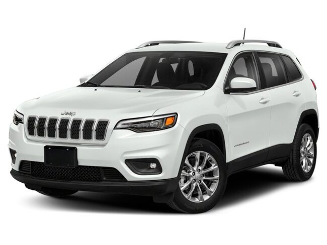 New 2019 Jeep Cherokee LATITUDE PLUS 4X4 Sport Utility Near Fitchburg