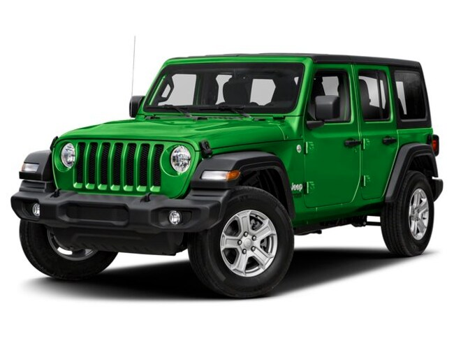 New 2019 Jeep Wrangler Unlimited Sport S 4X4 SUV for sale in Vermont