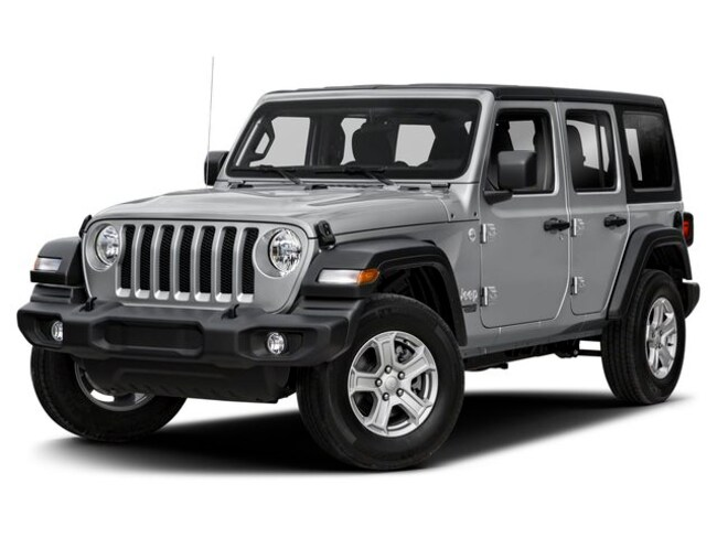 New 2019 Jeep Wrangler UNLIMITED SPORT S 4X4 Sport Utility in Avon Lake