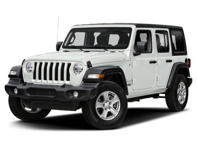 New 2019 Jeep Wrangler UNLIMITED SPORT 4X4 Sport Utility in Decatur, IL