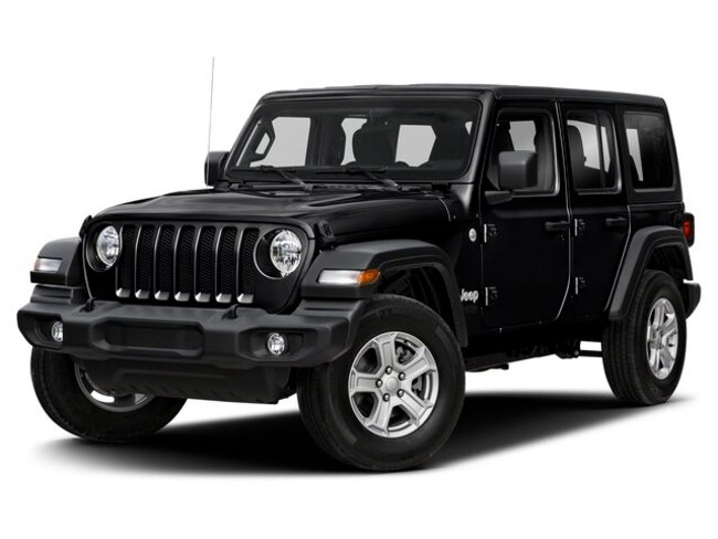 New 2019 Jeep Wrangler-Employee Price Unlimited Sport S 4X4 SUV for sale in Vermont