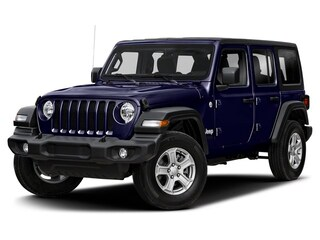 New 2019 Jeep Wrangler UNLIMITED SAHARA 4X4 Sport Utility in Williamsville, NY