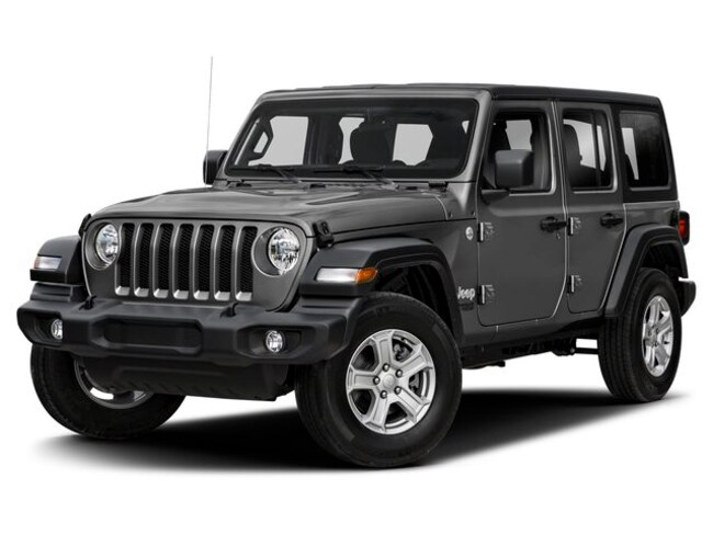 New 2019 Jeep Wrangler UNLIMITED SAHARA 4X4 Sport Utility in Avon Lake