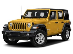 New 2019 Jeep Wrangler Unlimited Sahara 4X4 SUV for sale in Vermont