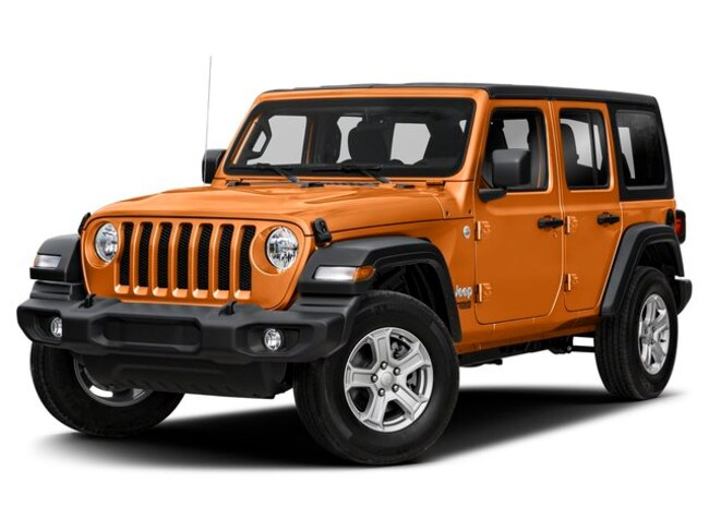 New 2019 Jeep Wrangler UNLIMITED RUBICON 4X4 Sport Utility For Sale Laurel, MD