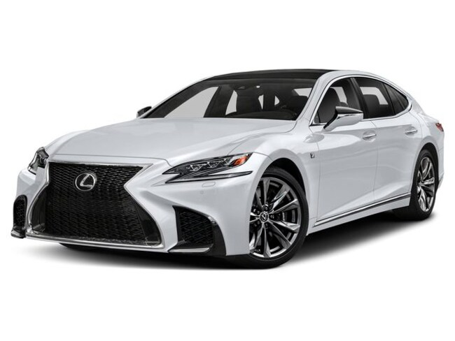 New 2019 Lexus Ls 500 Sedan F Sport Ultra White For Sale Medford