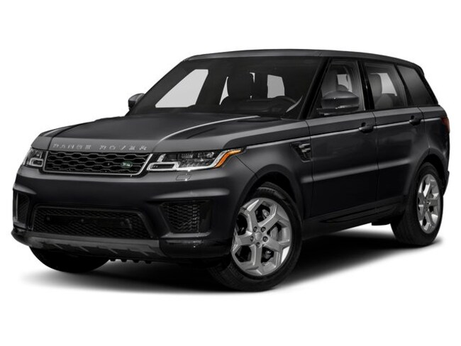 New 2019 Land Rover Range Rover Sport HSE SUV in Troy, MI