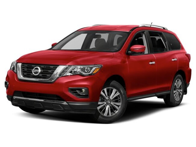 New 2019 Nissan Pathfinder SV SUV Hickory, North Carolina