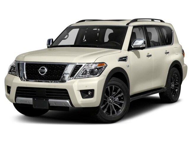 New 2019 Nissan Armada Platinum SUV | Hays, Dodge City & Garden City