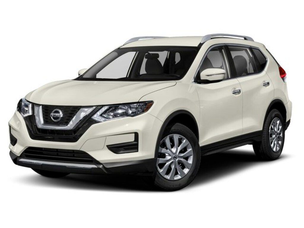 Nissan Suv Used >> Used 2019 Nissan Rogue Suv Awd Sv Glacier White For