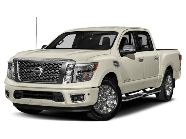 2019 Nissan Titan Platinum Reserve Truck Crew Cab For Sale in State College, PA