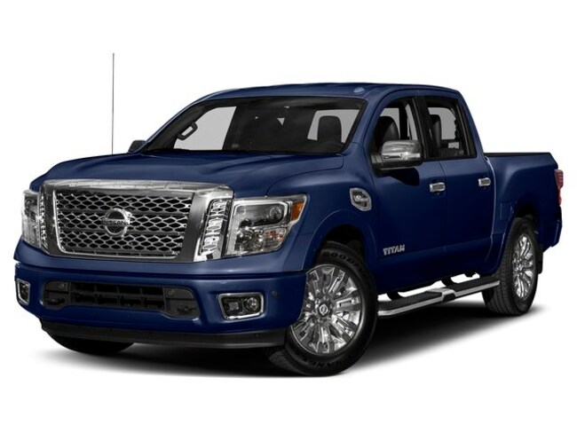 New Nissan 2019 Nissan Titan Platinum Reserve Truck Crew Cab for sale in Denver, CO