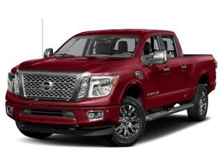 2019 Nissan Titan XD 4x4 Diesel Crew Cab Platinum Reserve Truck
