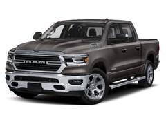 New 2019 Ram 1500 BIG HORN / LONE STAR CREW CAB 4X4 5'7 BOX Crew Cab 1C6SRFFT8KN586107 in Harrisburg, IL