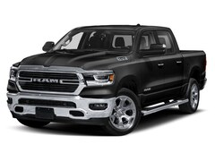New 2019 Ram 1500 BIG HORN / LONE STAR CREW CAB 4X4 5'7 BOX Crew Cab 1C6SRFFT3KN555573 for sale near Syracuse, NY at Burdick Dodge Chrysler Jeep RAM