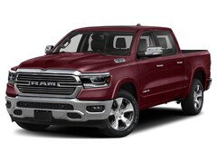 New 2019 Ram 1500 LARAMIE CREW CAB 4X4 5'7 BOX Crew Cab for Sale in Rochester, NH, at Poulin Chrysler Dodge Jeep Ram