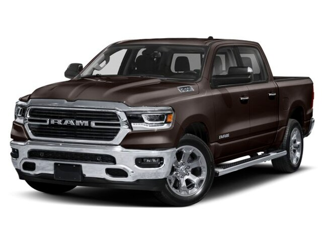 New 2019 Ram 1500 Big Horn Truck Crew Cab for sale at Port Jervis Auto Mall in Port Jervis, NY