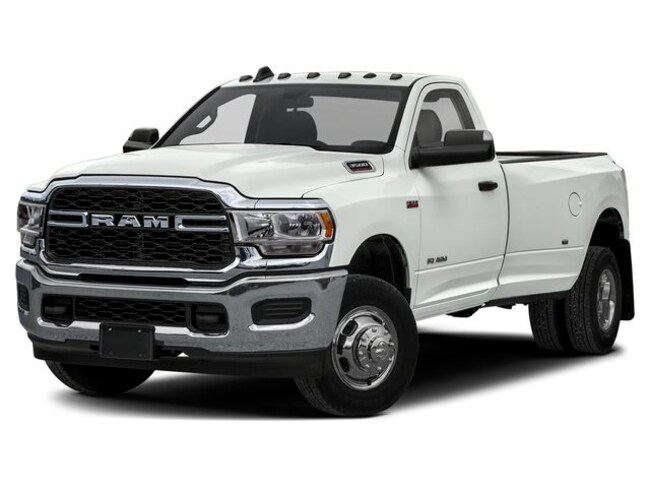 New 2019 Ram 3500 BIG HORN REGULAR CAB 4X4 8' BOX Regular Cab Morrison, IL