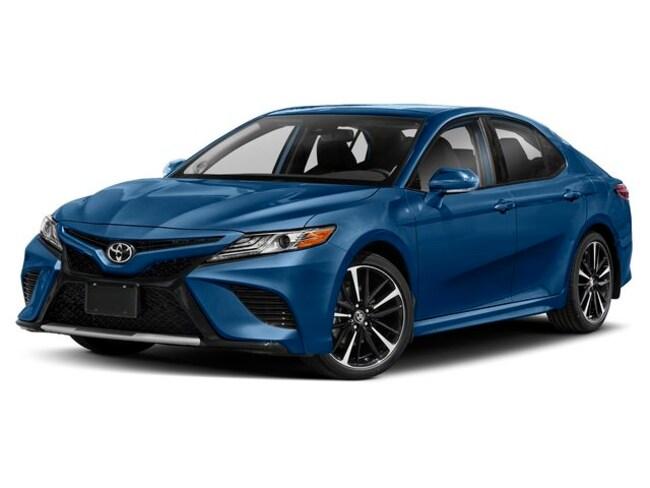 New 2019 Toyota Camry Xse Sedan Blue Streak For Sale In New York