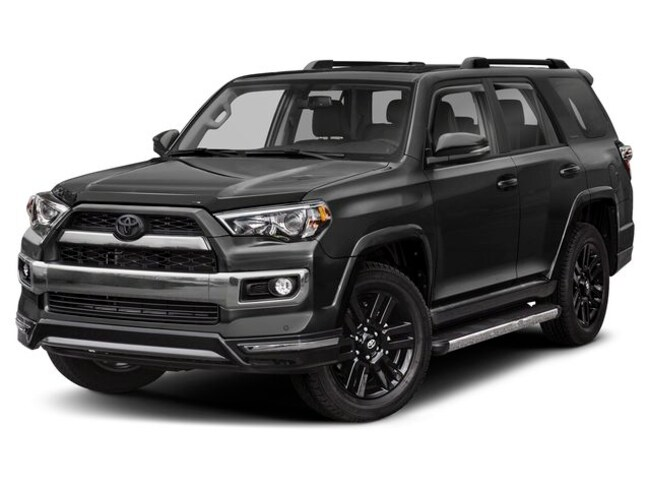 New 2019 Toyota 4Runner Limited Nightshade 4WD SUV Terre Haute, IN