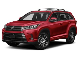 New 2019 Toyota Highlander SE V6 SUV in Portsmouth, NH