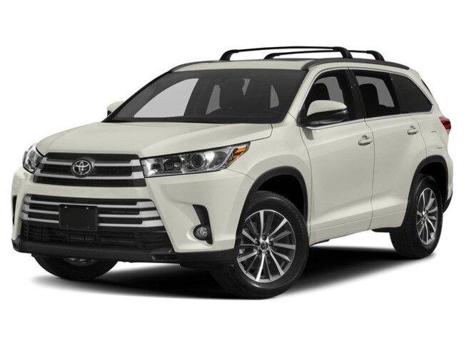 New 2019 Toyota Highlander XLE V6 SUV for sale in Boston MA