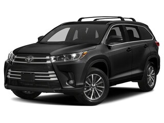 New 2019 Toyota Highlander XLE V6 AWD SUV