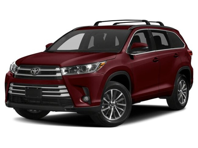 New 2019 Toyota Highlander XLE V6 SUV in Silver Spring, MD