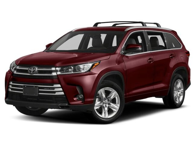 New Vehicle 2019 Toyota Highlander Limited Platinum SUV For Sale in Coon Rapids, MN
