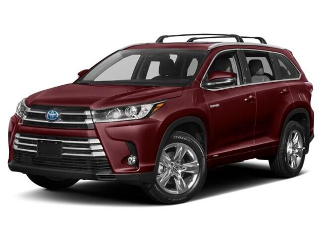 New 2019 Toyota Highlander Hybrid LE V6 SUV in Auburn, MA