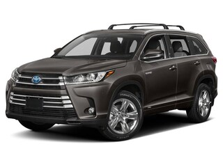 New 2019 Toyota Highlander Hybrid Limited Platinum V6 SUV serving Baltimore