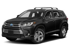 2019 Toyota Highlander Hybrid Limited Platinum V6 All-wheel Drive