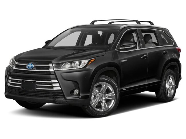 New 2019 Toyota Highlander Hybrid Limited Platinum V6 SUV for sale in Boston MA