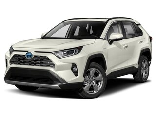 New 2019 Toyota RAV4 Hybrid Limited SUV for sale near Detroit