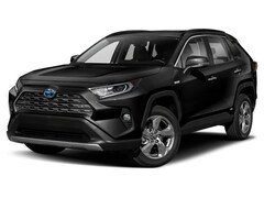 New 2019 Toyota RAV4 Hybrid Limited SUV near Escanaba, MI