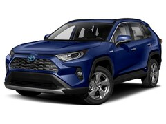 New 2019 Toyota RAV4 Hybrid Limited SUV for sale in Charlottesville