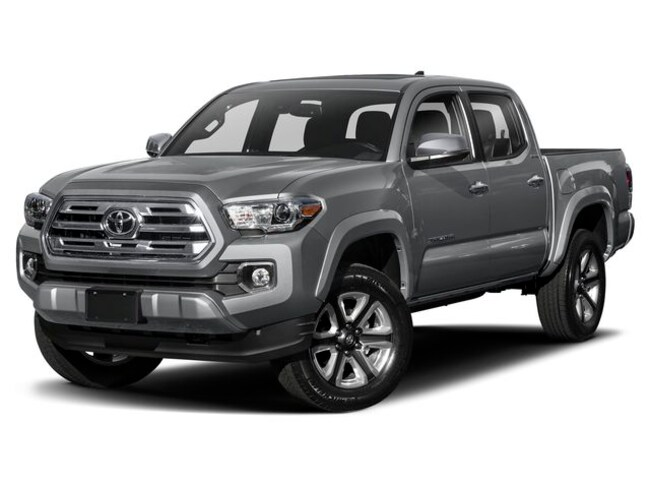 New 2019 Toyota Tacoma Limited V6 Truck Double Cab in Laredo, TX