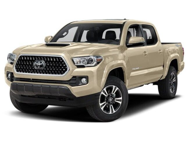 New 2019 Toyota Tacoma TRD Sport V6 Truck Double Cab T2815 in Cadillac, MI