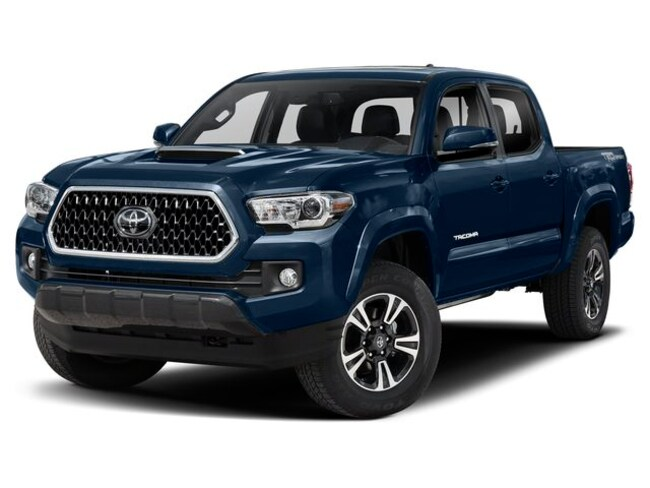 New 2019 Toyota Tacoma TRD Sport V6 Truck Double Cab 3TMDZ5BN4KM057234 for sale in Galesburg, IL