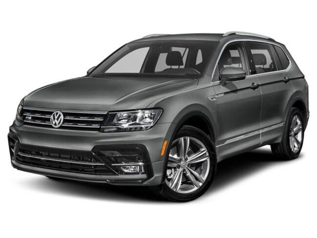 2019 Volkswagen Tiguan 2.0T SEL R-Line Jet-Black 4MOTION SUV