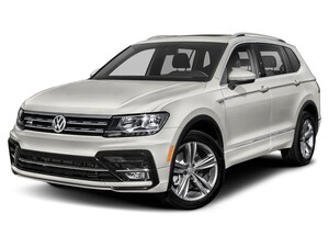 2019 Volkswagen Tiguan 2.0T SEL R-Line Jet-Black 4MOTION