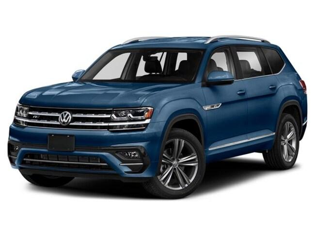 New 2019 Volkswagen Atlas 3.6L V6 SEL R-Line SUV in Austin, TX