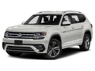 New 2019 Volkswagen Atlas 3.6L V6 SE w/Technology R-Line 4MOTION SUV D20009 in Dublin, CA