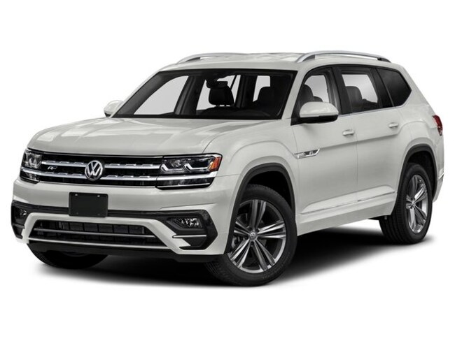 New 2019 Volkswagen Atlas 3.6L V6 SE w/Technology R-Line 4MOTION SUV for sale in Lynchburg, VA