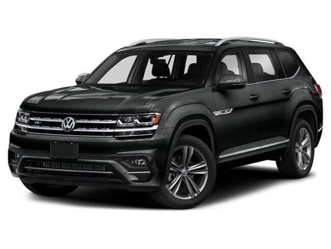 New 2019 Volkswagen Atlas 3.6L V6 SEL R-Line 4MOTION SUV For Sale/Lease Hanover, MA